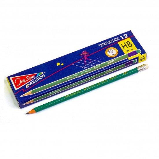 Bút chì pháp có tẩy 655