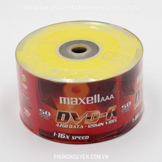 Đĩa DVD Maxell (50C/Cọc)