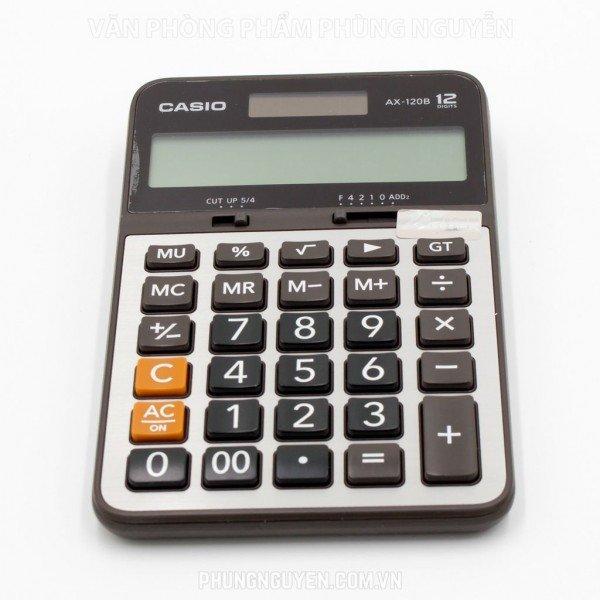 Máy tính casio AX 120B (BH 2 năm)