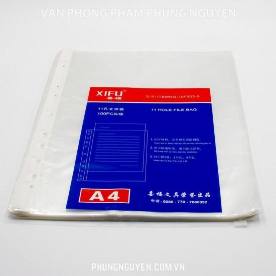 File đục lỗ A4 Dày (100c/túi)