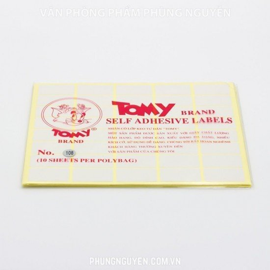Đề can Tomy A5