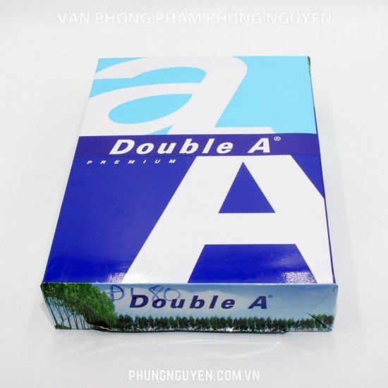 Giấy Double A A4 80/92