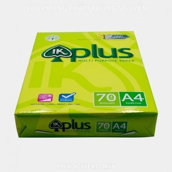 Giấy IK Plus A4 70/92