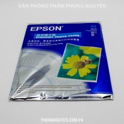 Giấy in ảnh 1 mặt Epson A4 20 tờ