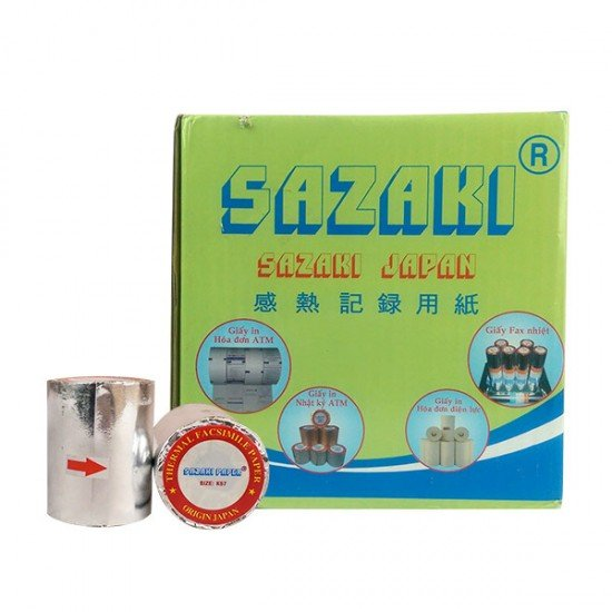 Giấy in nhiệt Sazaki 80x45