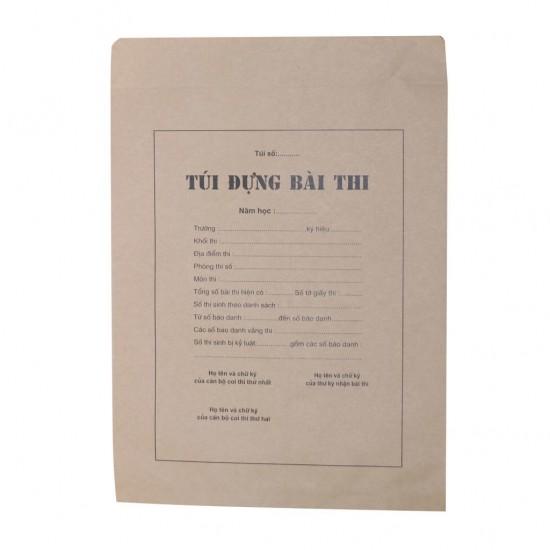 Túi đựng bài thi A3 (200 bộ/Tập)