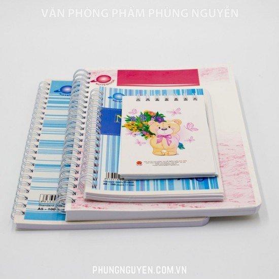 Sổ lò xo A4 100 Trang