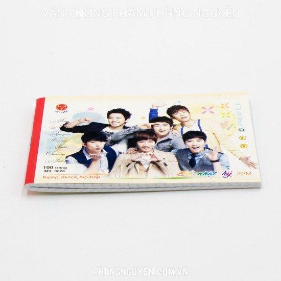Sổ nhật ký 100 Trang