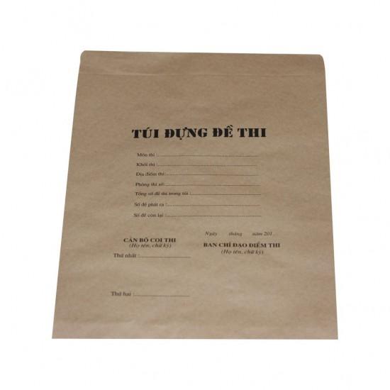 Túi đựng đề thi A4 (200 bộ/Tập)