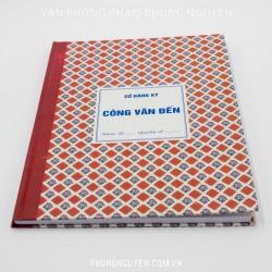 Sổ công văn đến 240 Trang